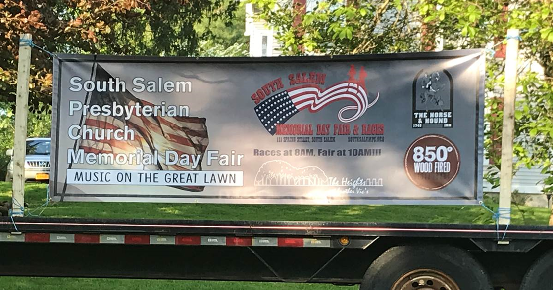 Memorial Day Parade Banner | Signmax.com