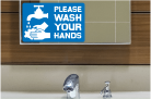 Wash Your Hands Decals
