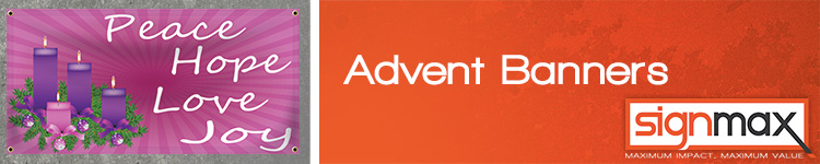 Custom Advent Banners from Signmax.com