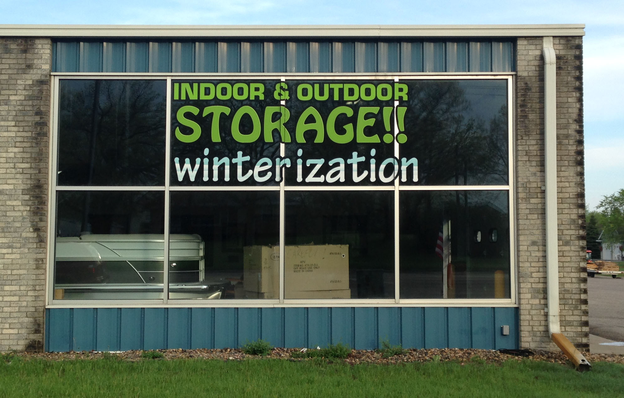 Custom Business Window Lettering from Signmax