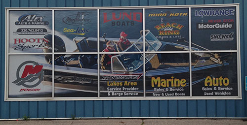 Alex Auto and Marine Window Perf Prints | Signmax.com