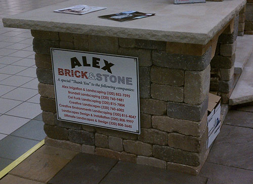 Sintra Sign for Alex Brick & Stone | Banners.com