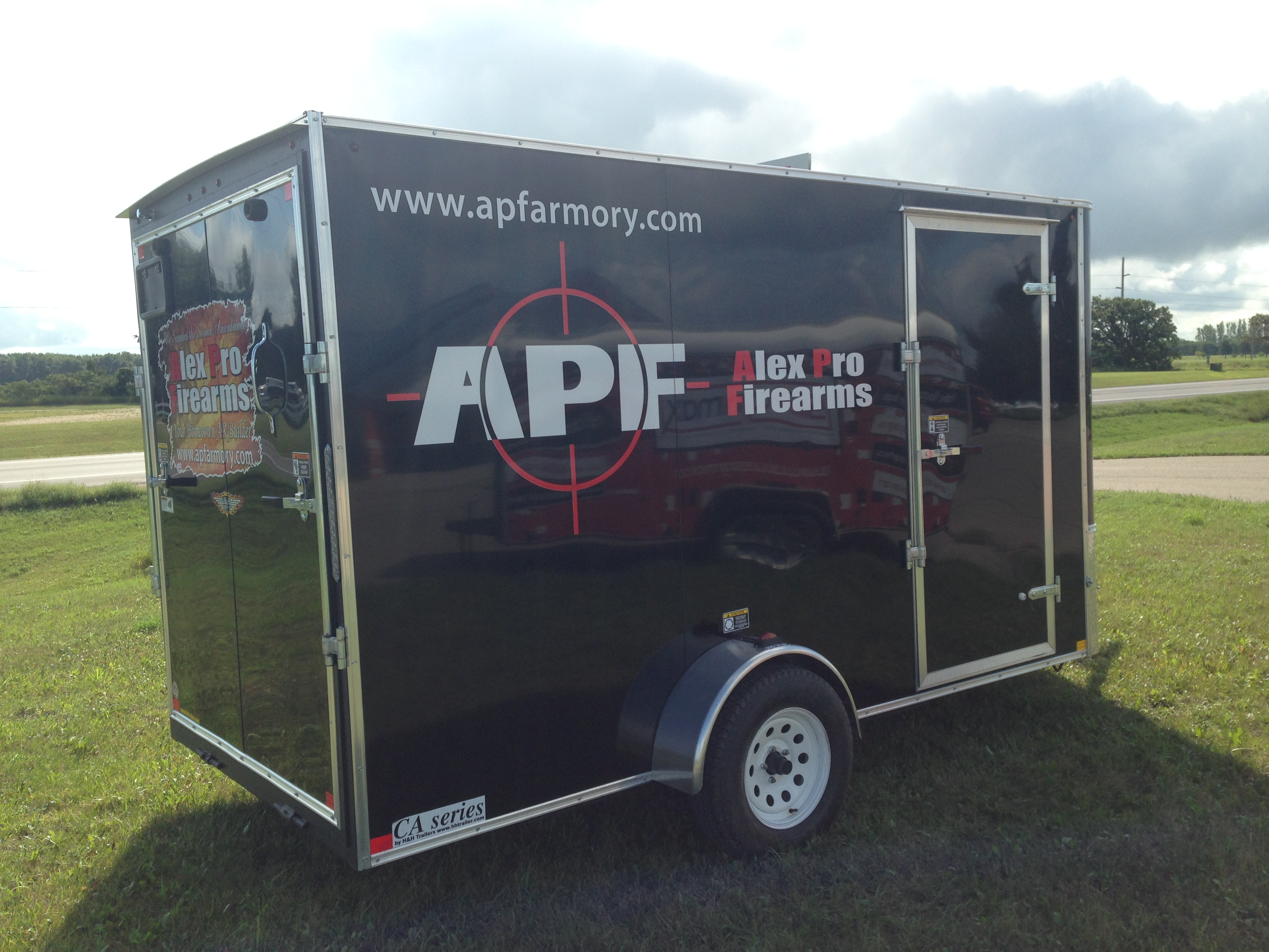 Alex Pro Firearms Trailer Decals | Signmax.com