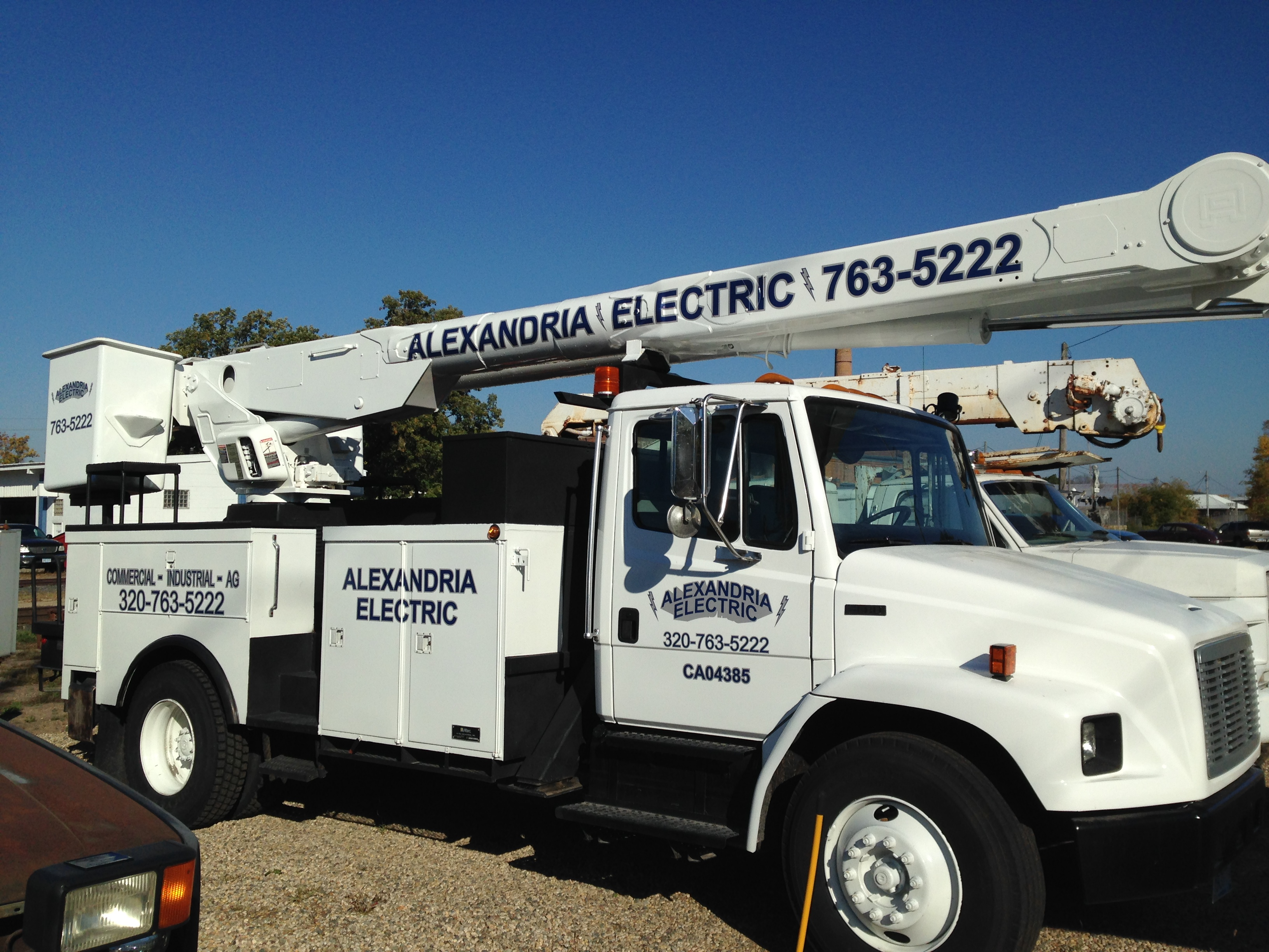 Alexandria Electric Truck Decals | Signmax.com