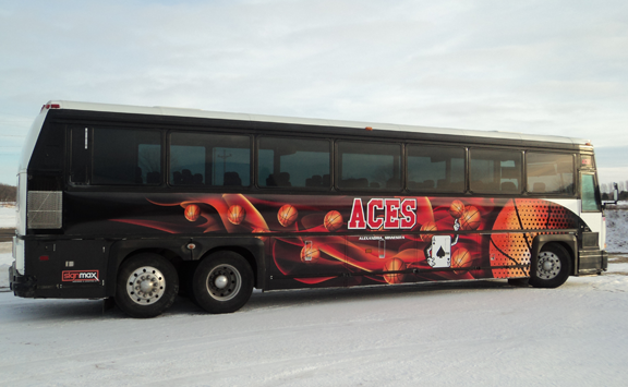 Custom Bus Wrap from Signmax