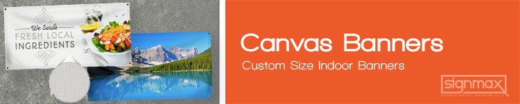 Canvas Banners | Signmax.com