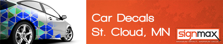 Car Decals St. Cloud, MN | SignMax.com