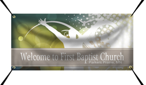 Custom Church Banners from Signmax