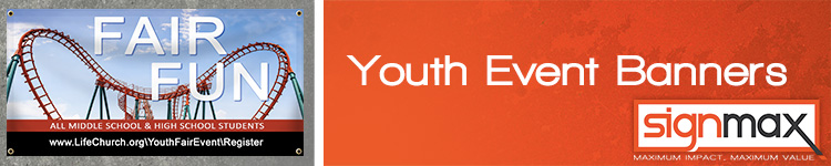 Church Youth Event Banners | Signmax.com