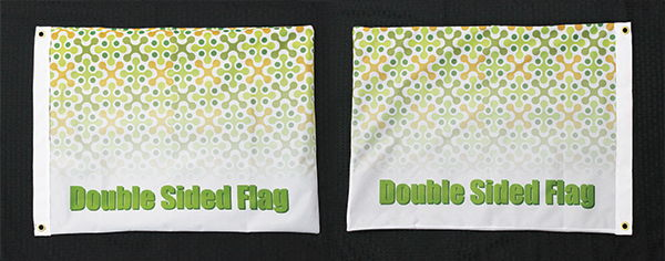 Double Sided Flags | Signmax.com