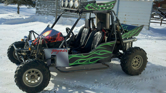 Custom Dune Buggy Wrap from Signmax