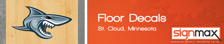 Floor Decals - St. Cloud, MN | SignMax.com