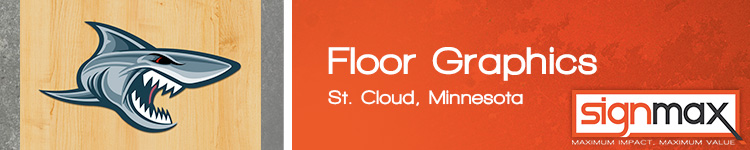 Floor Graphics - St. Cloud, MN | SignMax.com