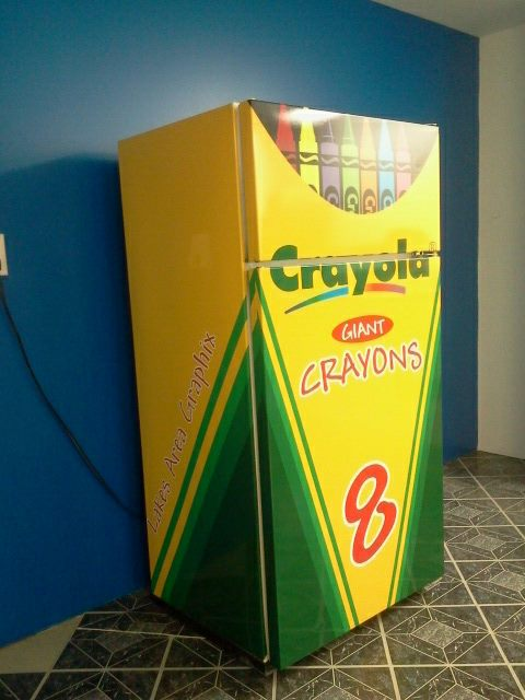 Custom Refrigerator Wrap from Signmax