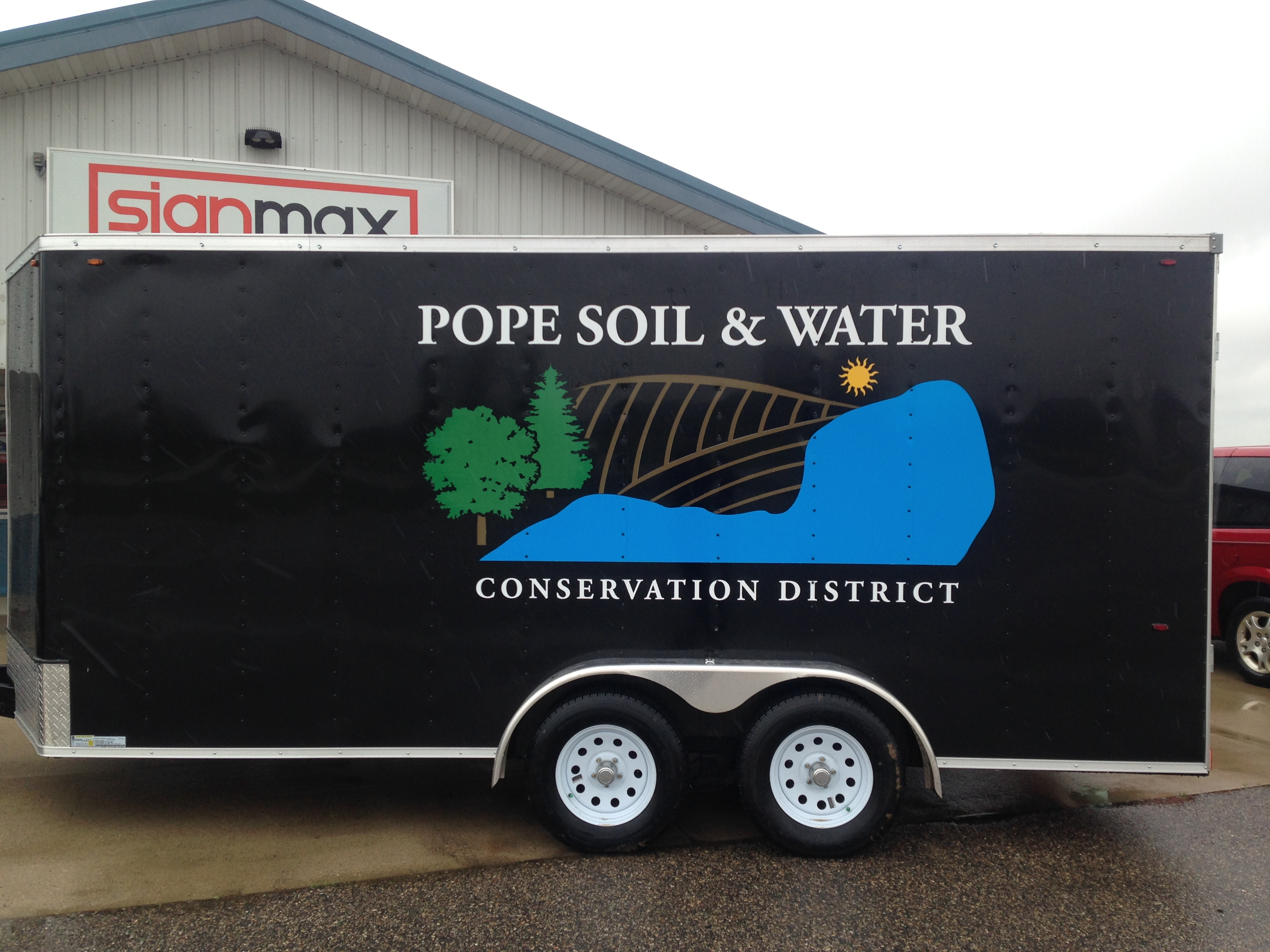 Custom Signage for Pope Soil & Water | Signmax.com