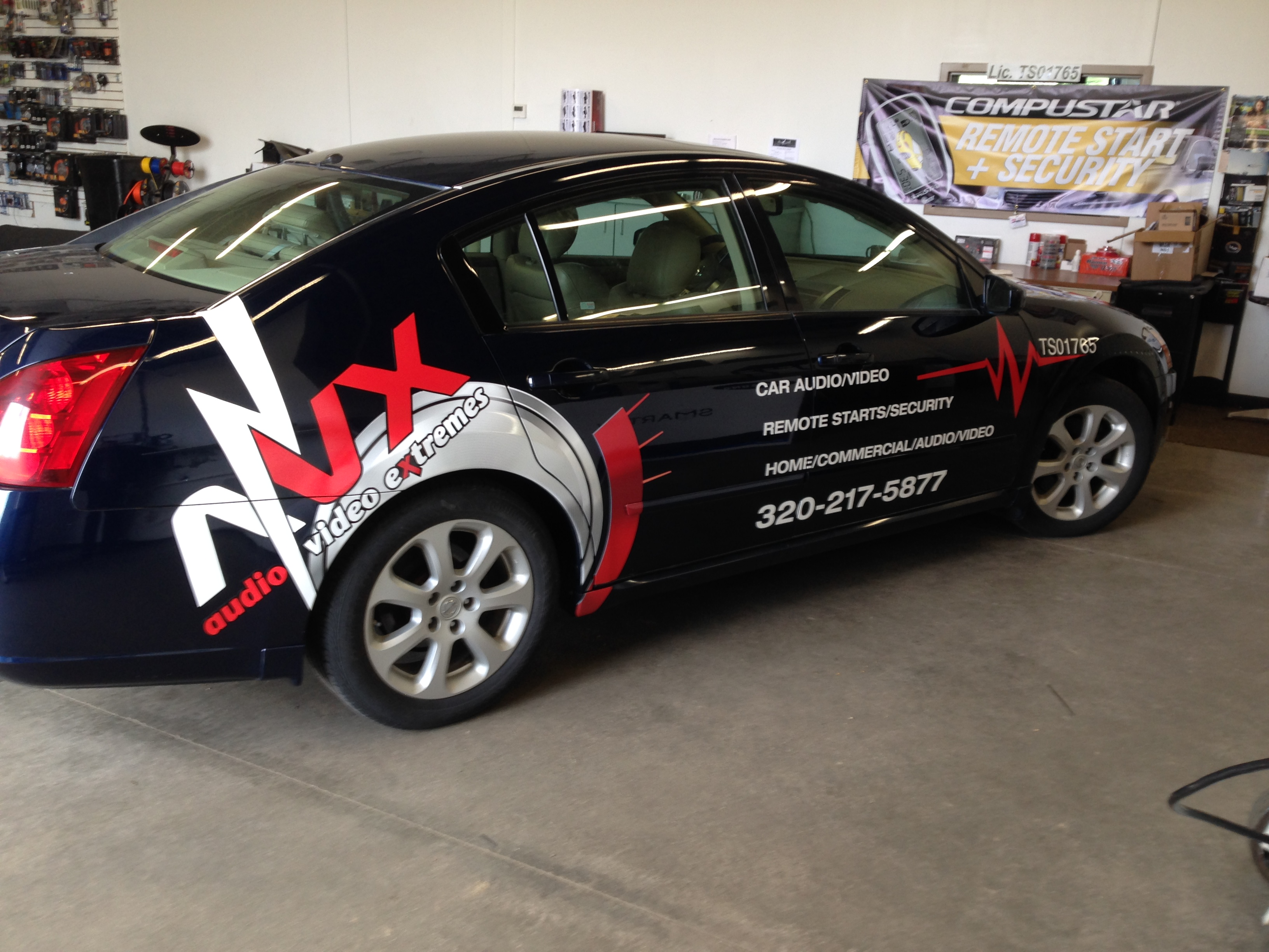 Audio Video Extreme's Car Wrap | Signmax.com