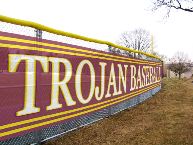 Custom Mesh Banners for Sports Complexes from Signmax