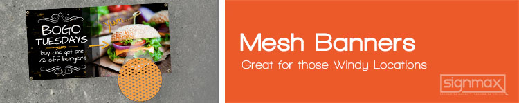 Mesh Banners | Signmax.com