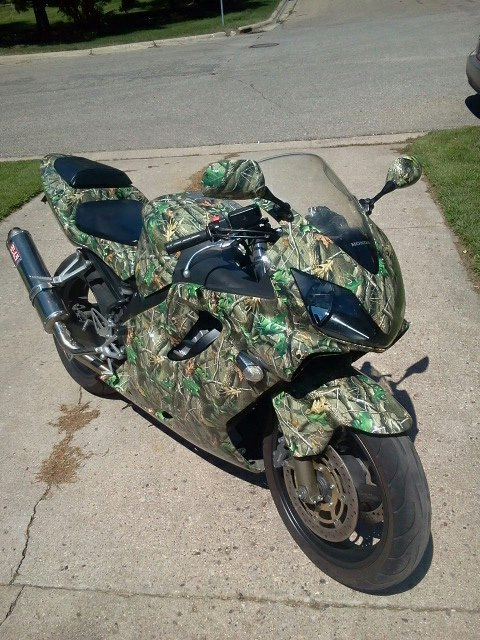 Custom Motorcycle Wrap from Signmax