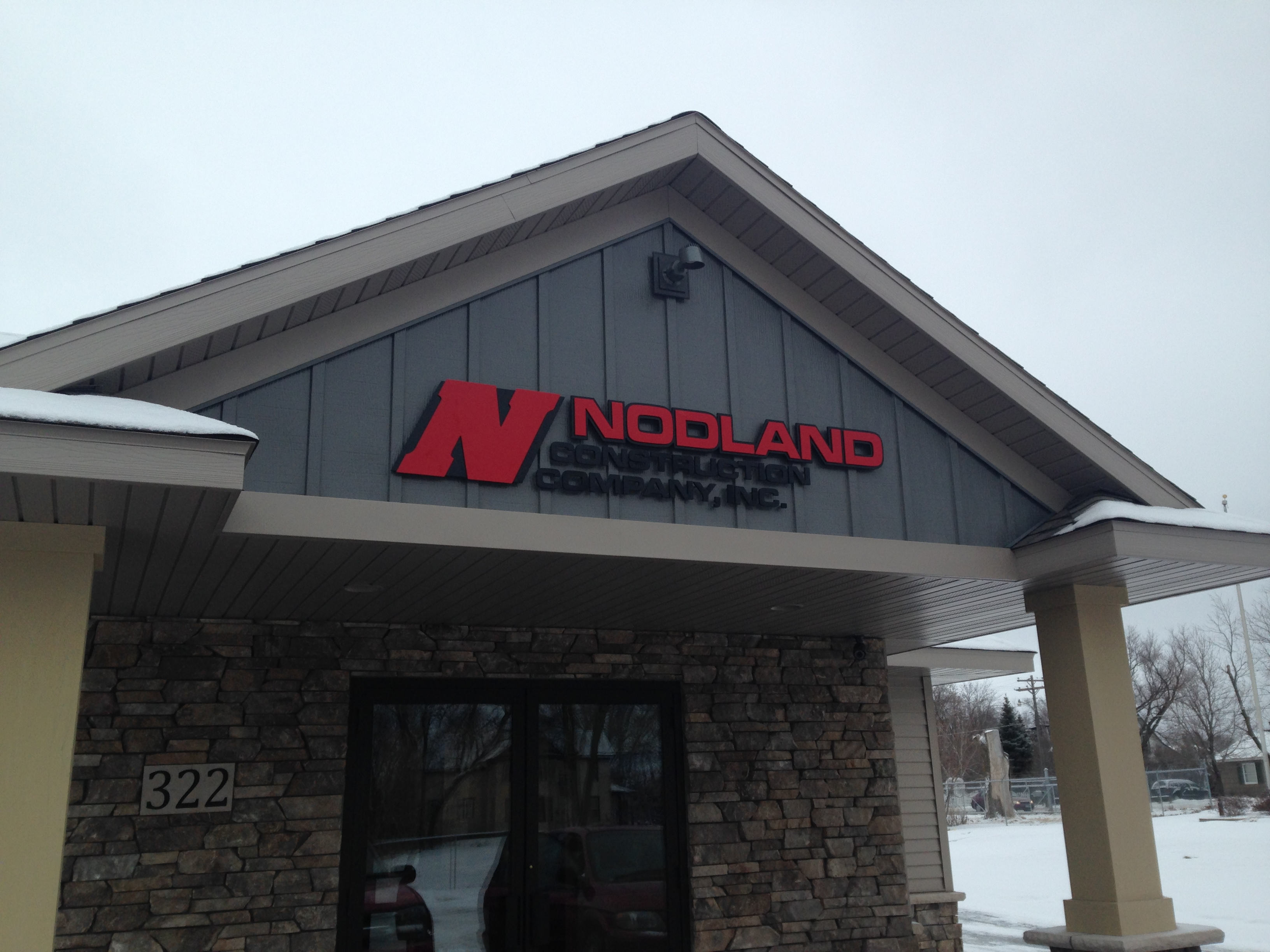 Custom Signs for Nodland Construction | Signmax.com