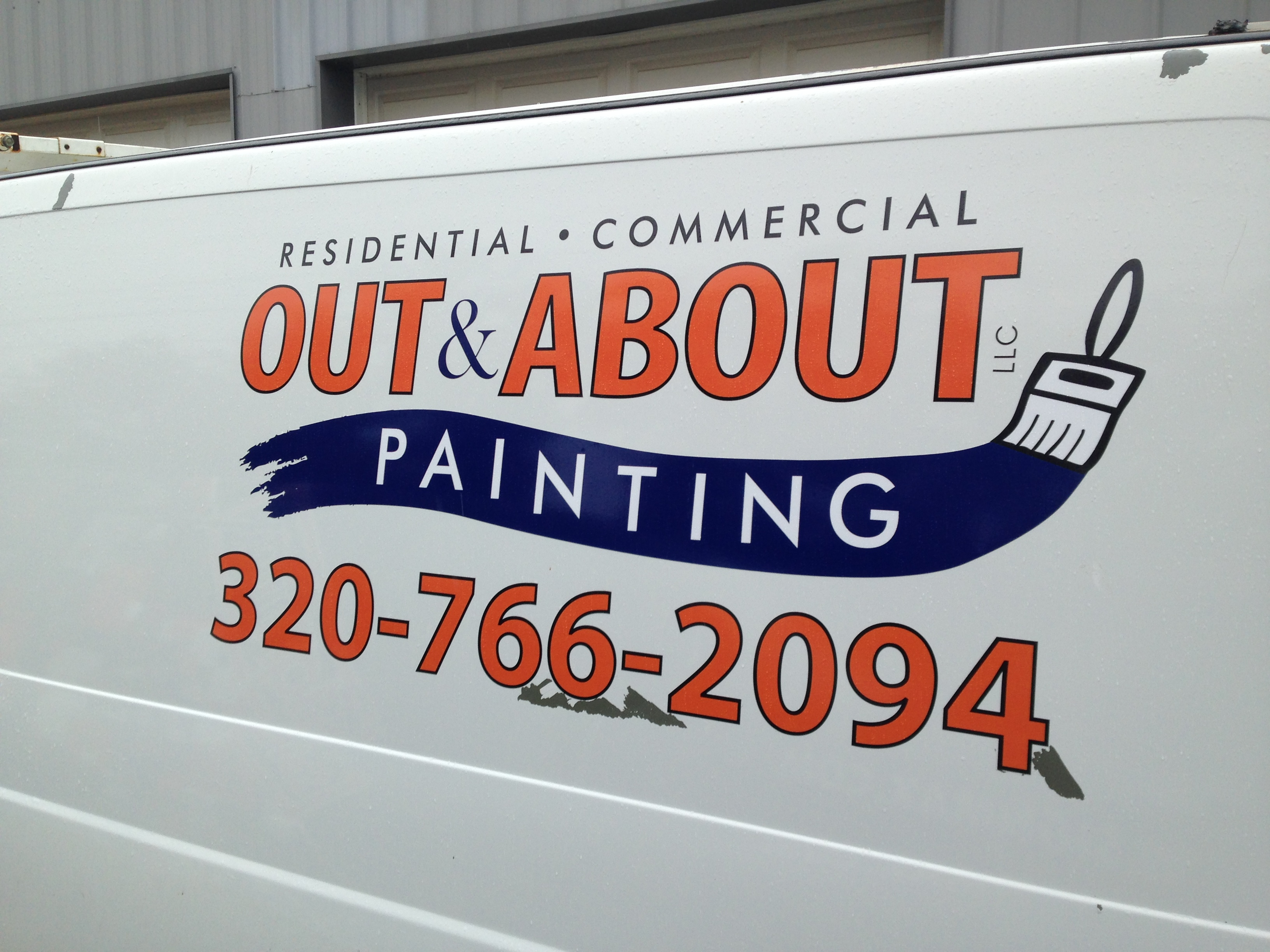 Custom Signage for Out & About Painting | Signmax.com