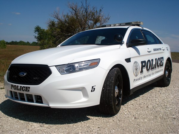 Custom Police Car Lettering from Signmax