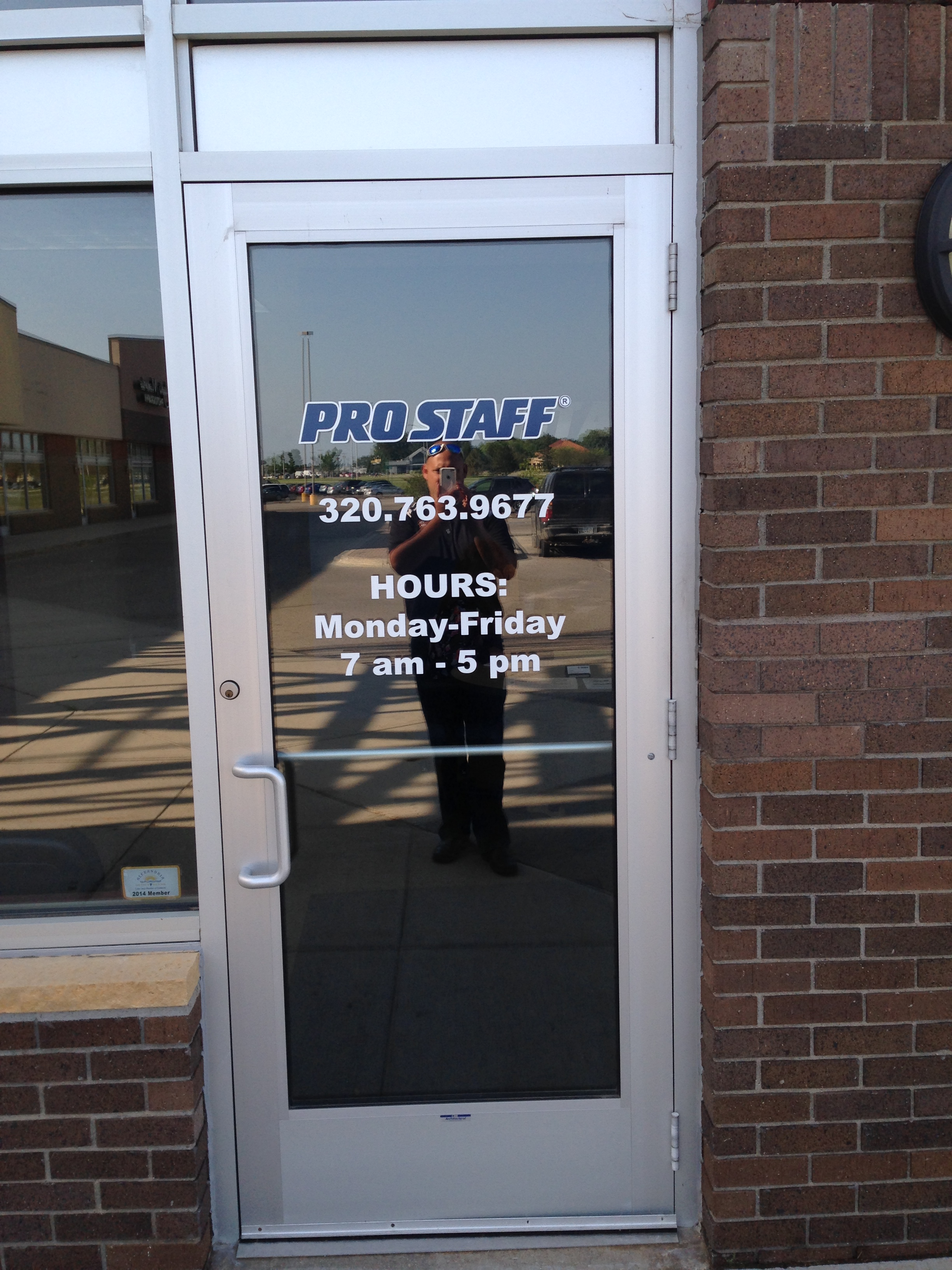 Custom Storefront Door Lettering from Signmax