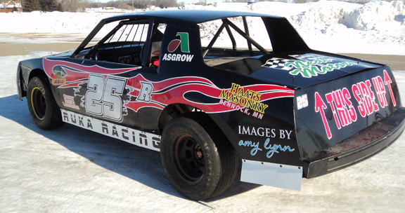 Custom Racecar Graphics from SignMax