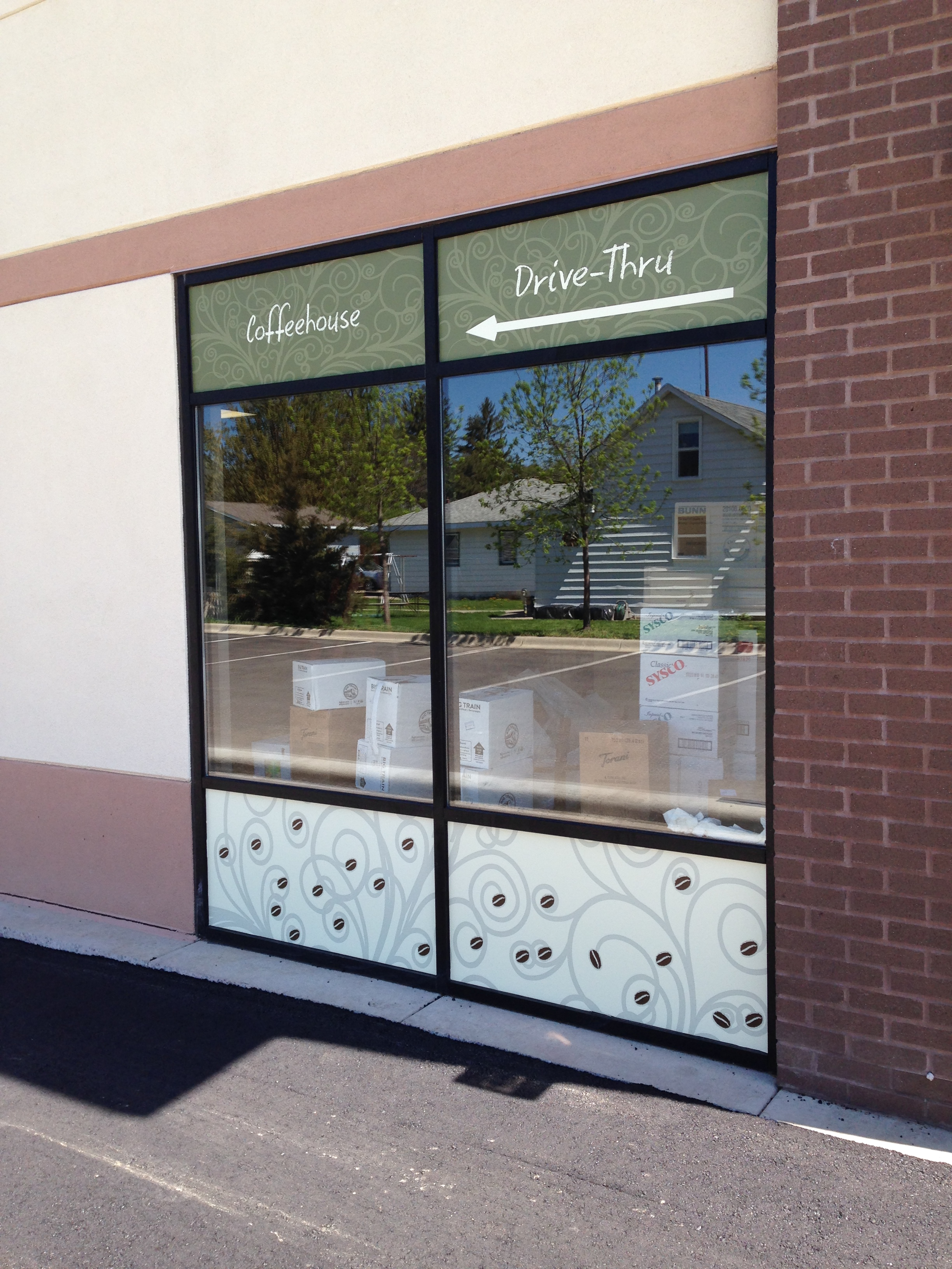 Custom Business Window Decals from Signmax