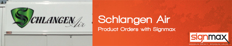 Custom Signs for Schlangen Air | Signmax.com
