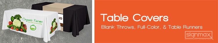 Table Covers | Signmax.com