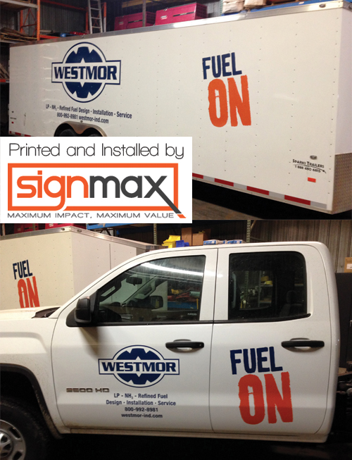 Westmor Truck and Trailer Decals | Signmax.com