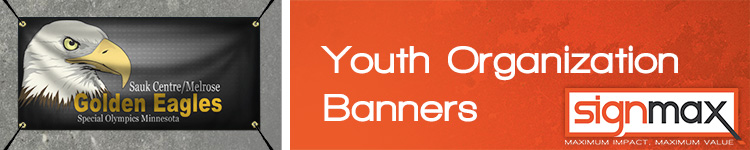 Custom Banners for Youth Organizations from Signmax