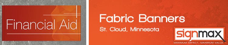 Fabric Banners from Signmax.com in St. Cloud, MN