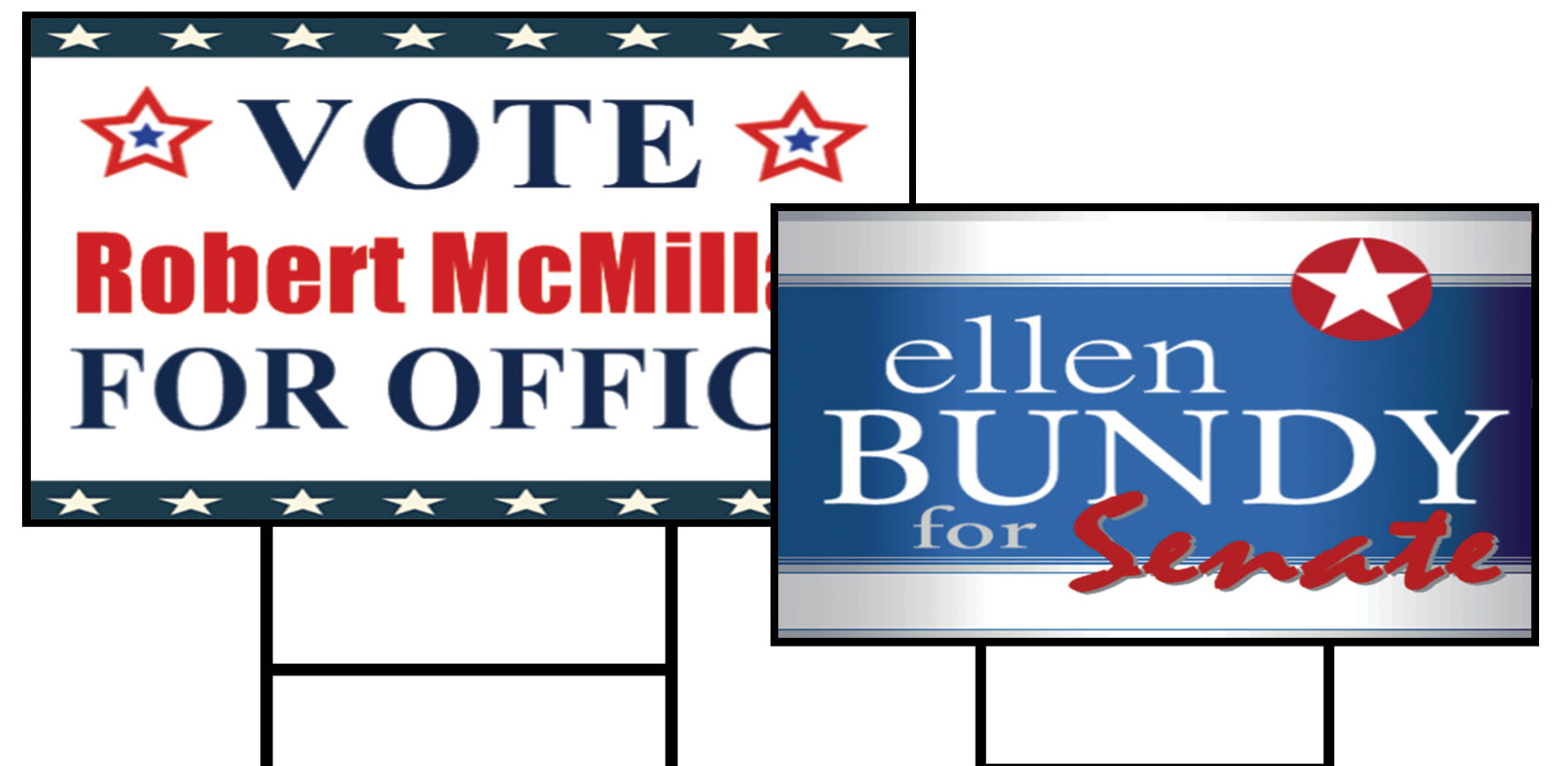 Custom Political Election Yard Signs from Signmax